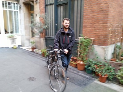 Ethan Footlik works as a freelance translator in Mexico City, Mexico. He works translating pieces from French into English. Photo courtesy of Footlik.