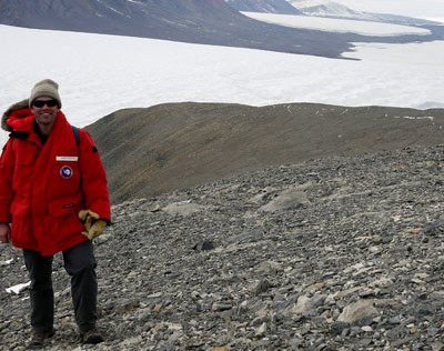 Howkins in Antarctica