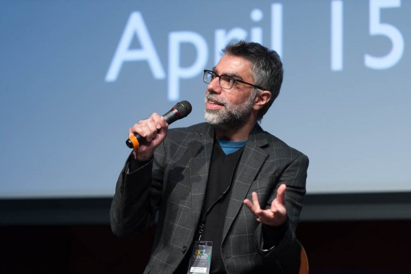 """questions after the showing of his film """"American Arab."""""""