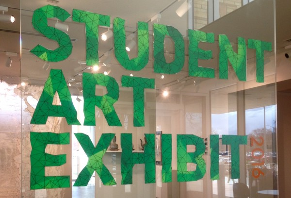 The 2016 Student Art Exhibit.
