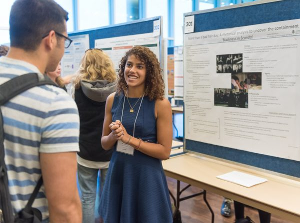 Graduate students showcase their research