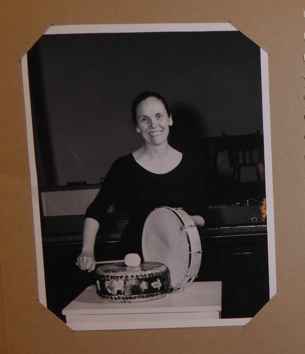 Photo of Irmel Fagan from 1959