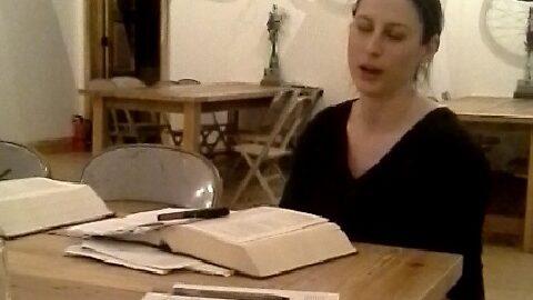 Lara Roberts leads a Rekindle the Classics discussion
