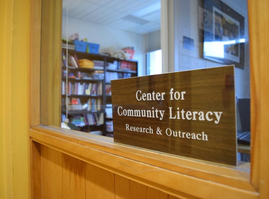 Community Literacy Center office, Eddy Hall
