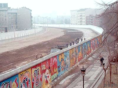 The Berlin Wall Prior to 1989