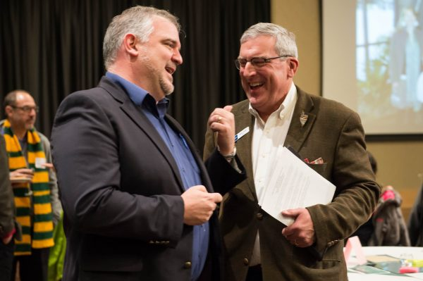 The Center for Public Deliberation celebrated 10 successful years of their program at Colorado State University on November 30, 2016. . The CPD is dedicated to enhancing local democracy through improvd public communication and community problem-solving.