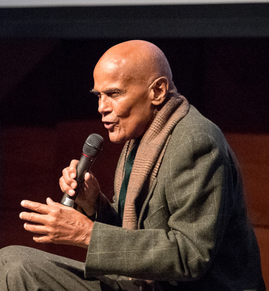 Harry Belafonte at the ACT Human Rights Film Festival