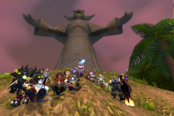 Original ERTL Virtual Ethnographic Research Team's World of Warcraft avatars in 2009.