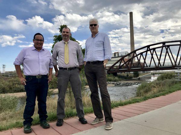 Eric Aoki, Chris Conner, and Greg Dickinson in Denver