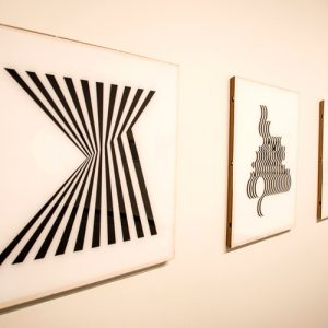 "Artwork from the exhibit ""Off Kilter, On Point: Art of the 1960s from the Permanent Collection"""