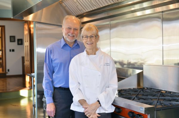Linda Randall and Gerald Hazelbauer