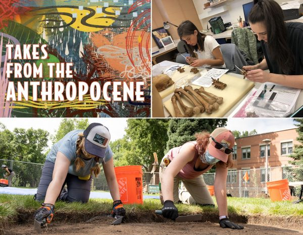 Collage of photos from the Department of Anthropology and Geography at CSU