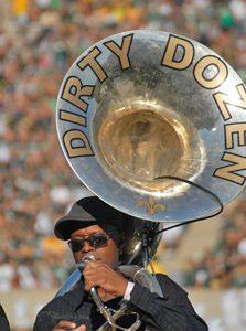 Dirty Dozen Brass Band Tuba Promotional Photo
