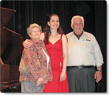 Miroslava Mintcheva winners picture, 12th Simone Belsky Piano Competition