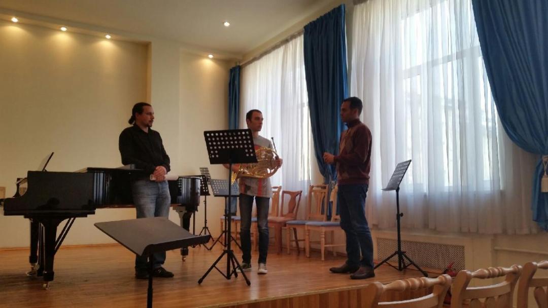 Saint Petersburg Music Academy masterclass.