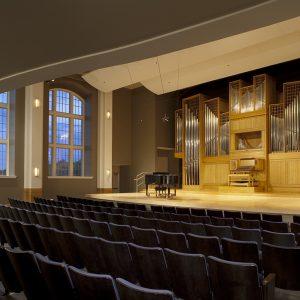 Organ Recital Hall pictured