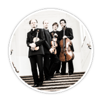 Hugo Wolf String Quartet, violin, viola, cello