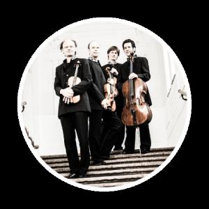 Hugo Wolf String Quartet, violin, viola, cello