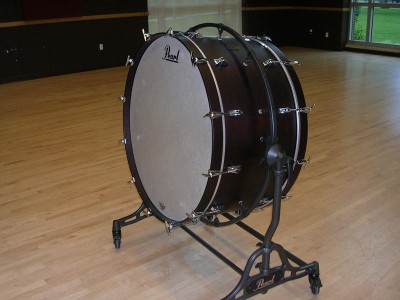 "Pearl Phil 36"" Mahogany Bass Drums"