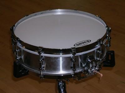 """Pearl Philharmonic Aluminum 4"""" Snare Drum"""