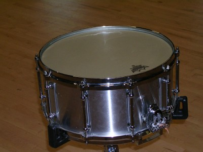 """Pearl Philharmonic Aluminum 6.5"""" Snare Drum"""