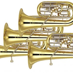 Tubas pictured