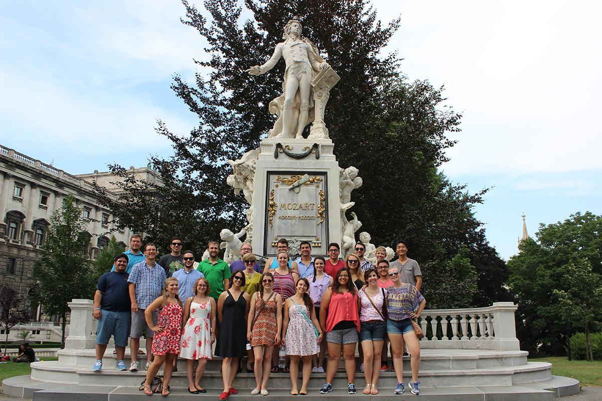 Rams In Europe Csu Chamber Choir Tour Music