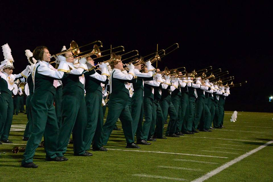 Colorado Bandmasters Association State Marching Band