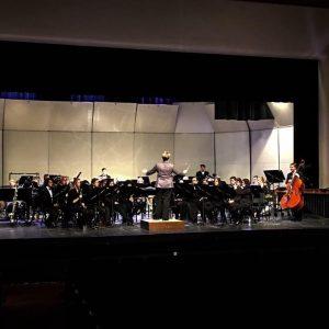 Wind Symphony 2016 Southwest Tour performance photo