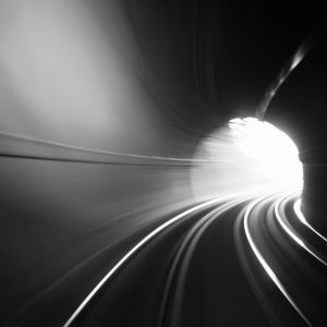 Black and White tunnel pictured