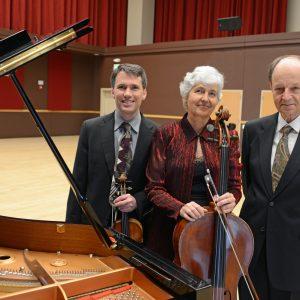 The members of The Mendelssohn Trio