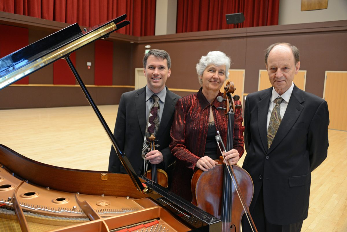 The members of The Mendelssohn Trio