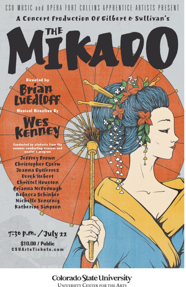 The Mikado promotional poster