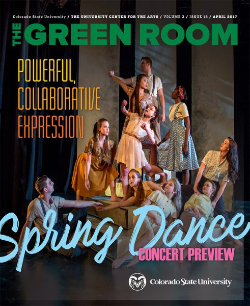 cover of the April 2017 issue of The Green Room
