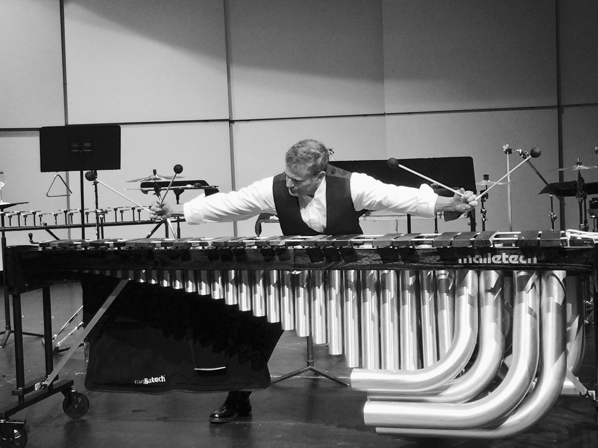 Percussionist Andy Harnsberger