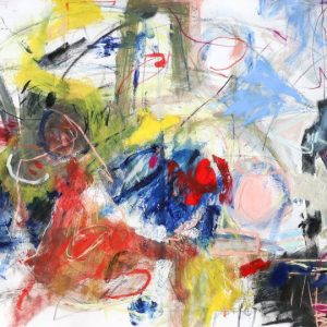 Abstract art painted by Tatawa (Wei Tan)