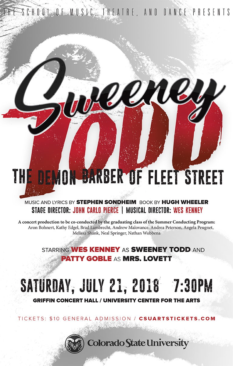 Sweeney Todd promotional poster