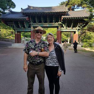 Kenney-Stewart South Korea tour photo