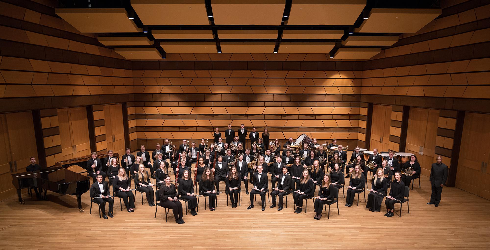 Symphonic Band group shot