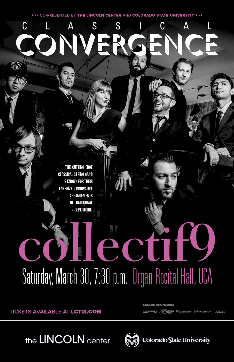 Collectif9 promotional poster