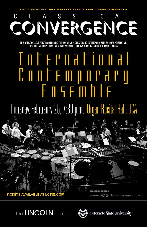 Classical Convergence Concert International Contemporary Ensemble