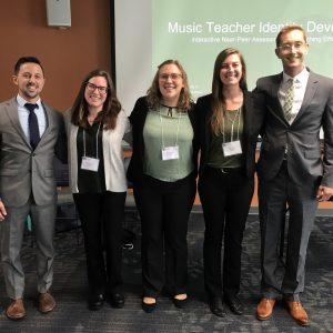 Picture of Seth Pendergast, Christina Herman, Hollie Bennett, Casey Padron, and Erik Johnson