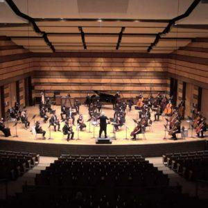 University Symphony Orchestra Fall 2020 Performance photo