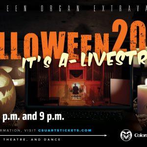 Halloween Organ Extravaganza 2020 Promotional Screen