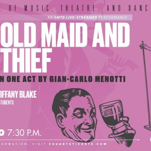The Old Maid and The Thief promotional screen