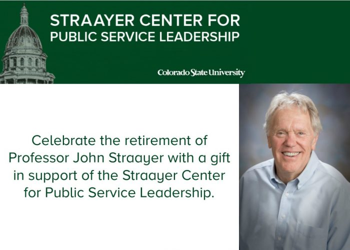 Straayer Center donation