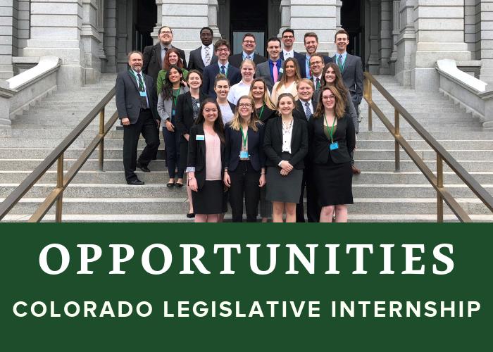 Colorado Legislative Internship