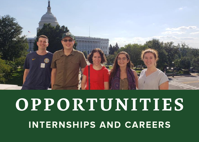 Internships and Careers