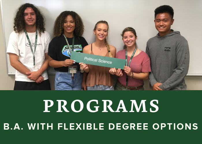 B.A. with Flexible Degree Options