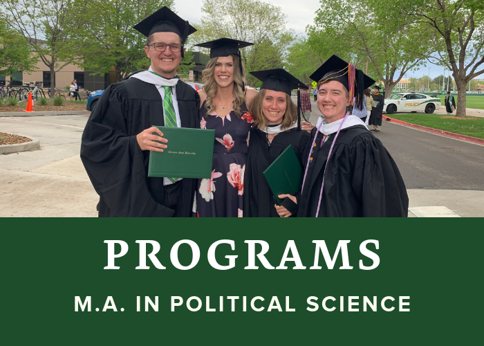 M.A. in Political Science